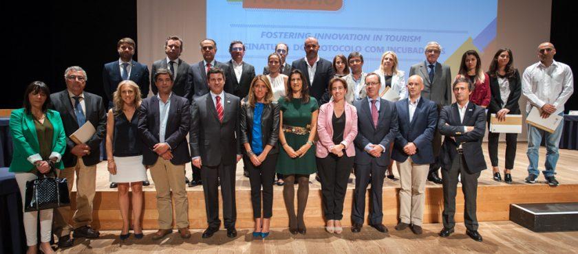 Protocolo com Turismo de Portugal para incubação de startups no CETEC