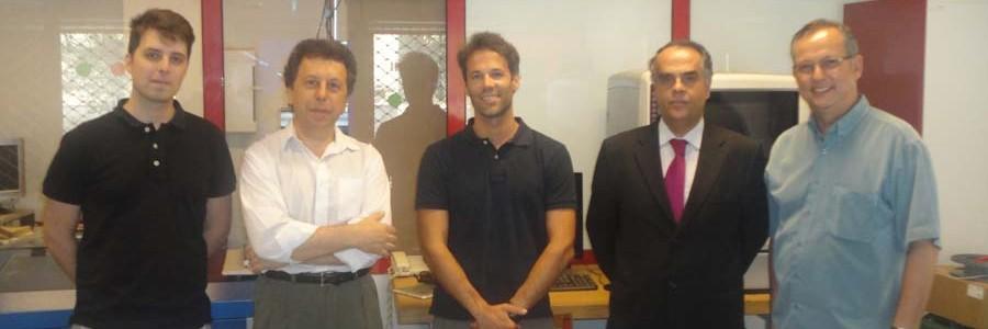 Visita do Coordenador do DIGI FAB ao FabLab Coimbra