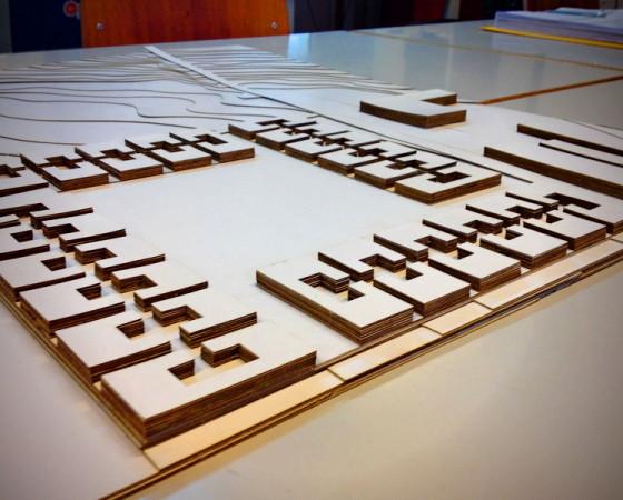 Arquitetura no corte a laser | Diogo Lemos