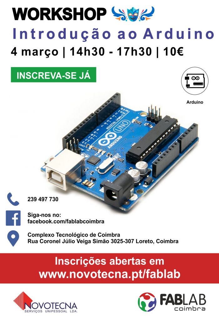 Workshop Arduino Carnaval