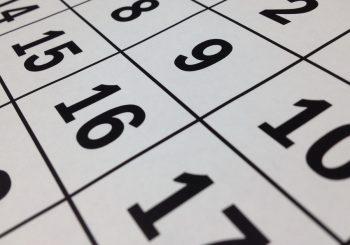 Calendarização