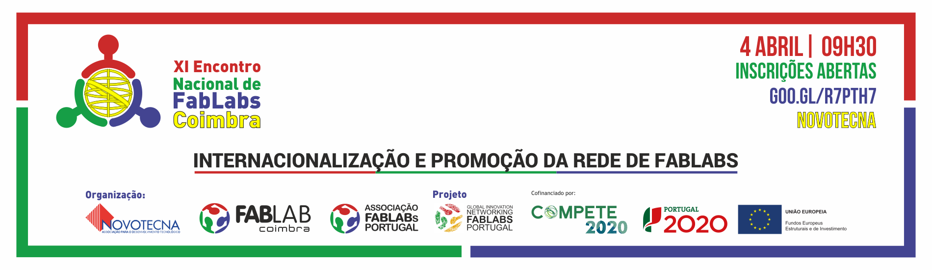 XI Encontro Nacional de FabLabs – Coimbra
