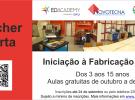 Cursos gratuitos de Iniciação à Fabricação Digital!